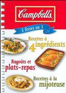 Campbell's : 3 livres en 1