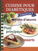 Cuisine diabétique : 3 livres en 1