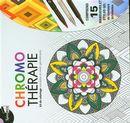 Chromo thérapie : kit de coloriage mandalas et motifs géométriques