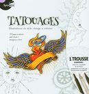 Tatouages : Illustrations de style vintage à colorier