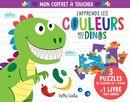 J'apprends les couleurs avec les dinos : Mon coffret à toucher