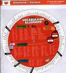 La roue du vocabulaire allemand