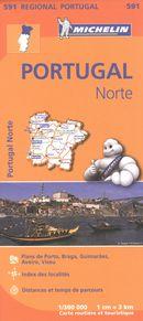 Portugal Norte 591 - Carte rég.