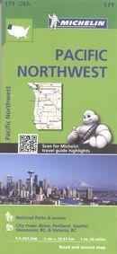 Pacific Northwest 171 - Carte rég.