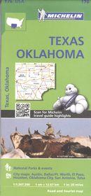 Texas Oklahoma 173 - Carte nat