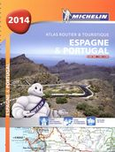 Atlas routier & touristique Espagne & Portugal 2014-Spiralé