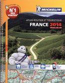 Atlas routier & touristique France 2014  spiralé-1:200 000