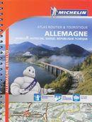 Atlas routier & touristique Allemagne & autres 2014 Spiralé