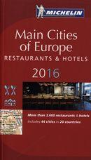 Main Cities of Europe Restaurants & Hotels 2016 N.E.