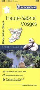 Haute-Saône, Vosges 314 - Carte ville local