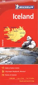 Iceland/Islande Map 750 - Map Country