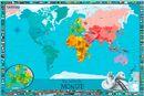 Ma carte du monde Enfants