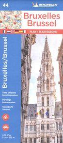 Bruxelles Brussel 44 - Carte ville local