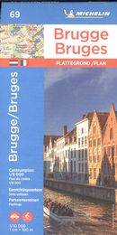 Bruges 69 - Carte ville local