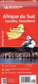 Afrique du Sud 748 - Carte national