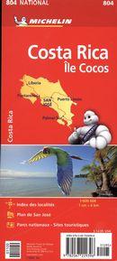 Costa Rica 804 - Carte national
