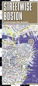 Streetwise Boston Map
