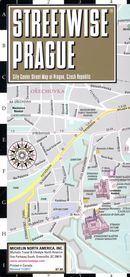 Streetwise Prague Map