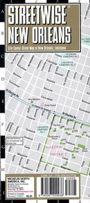 Streetwise New Orleans Map