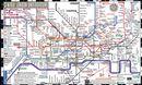Streetwise Central London underground Map