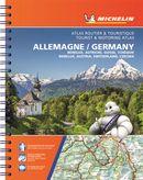 Atlas routier & touristique Allemange, Benelux, Autriche, Suisse, Tchèquie