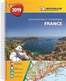 France - Atlas routier et touristique 2018 Spirale