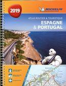 Espagne & Portugal 2019 - Atlas routier & touristique spirale