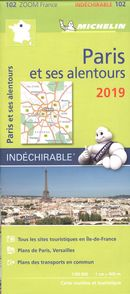 Paris et ses alentours 2019 - Carte zoom