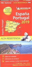 Espagne, Portugal 794 - carte nat. 2019 indéchirable