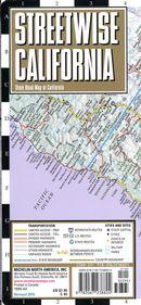 Streetwise California map