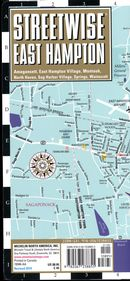 Streetwise East Hampton map