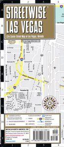 Streetwise Las Vegas map