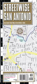 Streetwise San Antonio map