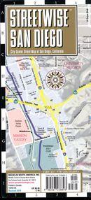 Streetwise San Diego map
