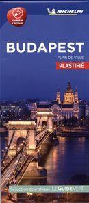 Budapest - Plan de ville plastifié