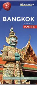 Bangkok - Plan de ville plastifié