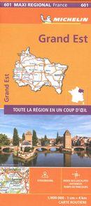 Grand Est 601 - Carte régionale