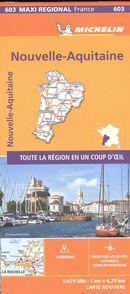 Nouvelle-Aquitaine 603 - Carte régionale