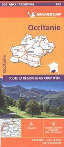Occitanie 605 - Carte régionale