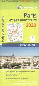 Paris et ses alentours 2020 - Carte zoom
