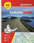 Europe Atlas routier 2020 (Spirale)