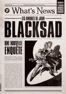Blacksad What's new ! Gazette