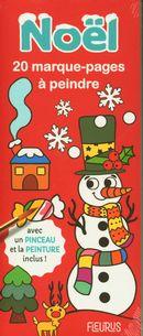 20 marque-pages à peindre - Noël