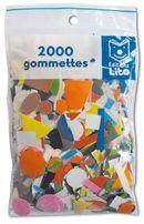Sachet 2000 Gommettes Assorties