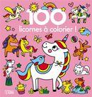 100 licornes à colorier !