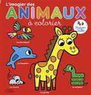 L'imagier des animaux à colorier