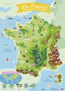 La France : Ses fleuves et ses reliefs