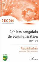 Cahiers congolais de communication 2017 N° 1