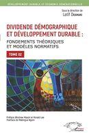 Dividende démographique et développement durable Tome 2