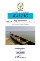 Kaliao Revue pluridisciplinaire de l'Ecole Normale Supérieure de Maroua (Cameroun)
